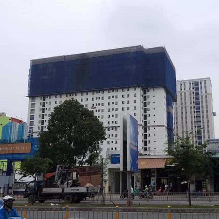 View nhìn từ đường Kinh Dương Vương