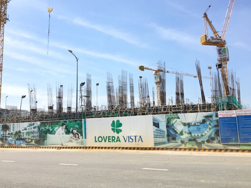 Tiến độ dự án Lovera Vista Khang Điền tháng 11/2019
