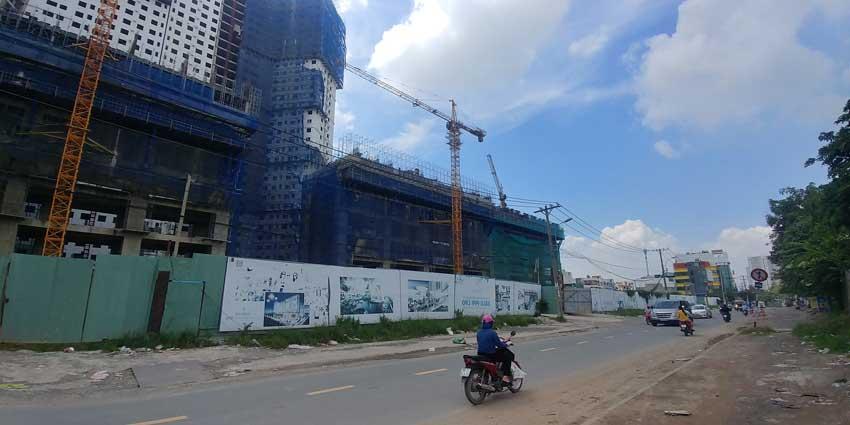 View dự án từ đường Tạ Quang Bửu