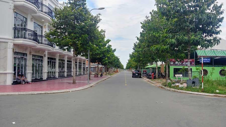 nhà phố thương mại dự án Mekong Centre Sóc Trăng