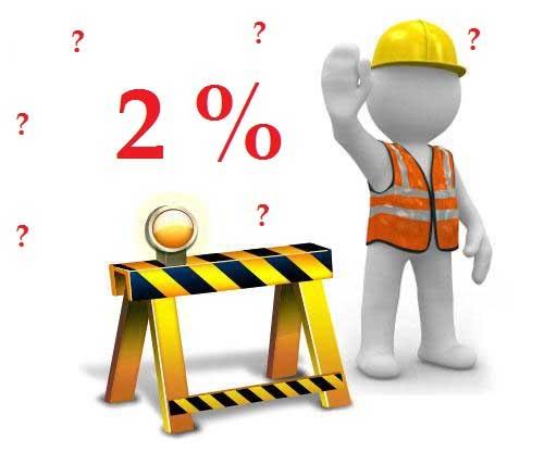 Phí bảo trì phải đóng 2% giá trị căn hộ