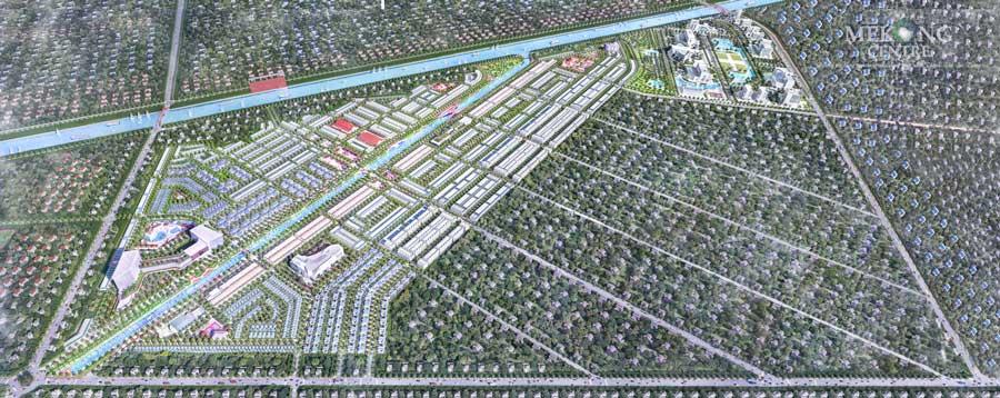 Phối cảnh dự án Mekong Centre