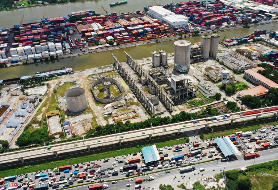 Hình ảnh thực tế dự án River City Thủ Đức
