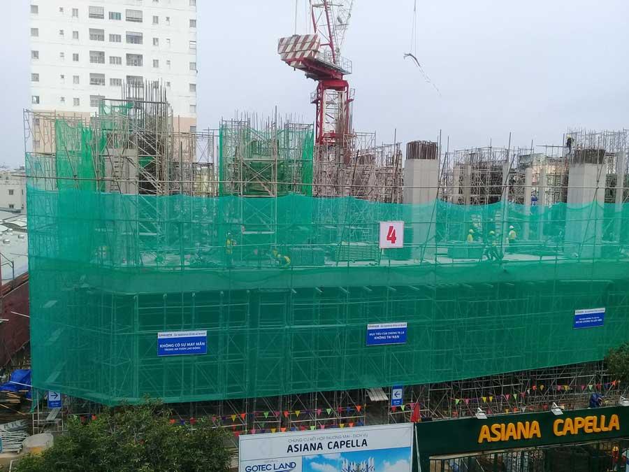 Tiến độ dự án căn hộ Saigon Capella