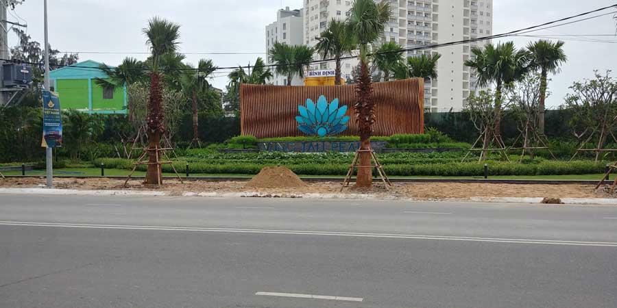 Biểu tượng dự án tại mặt tiền đường Thi Sách