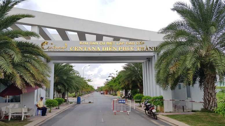khu dân cư biệt lập cao cấp Centana Điền Phúc Thành