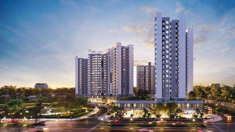Phối cảnh dự án căn hộ West Gate
