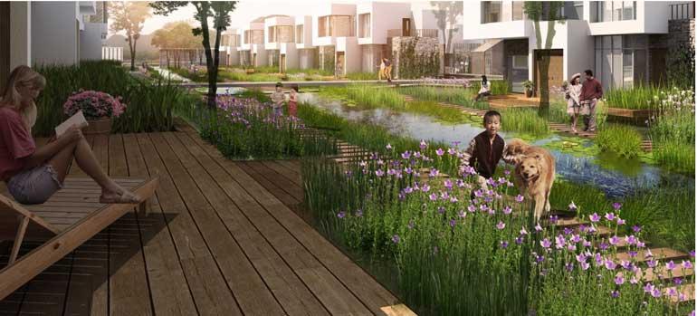 Phối cảnh phân khu  Furama Resort & Spa