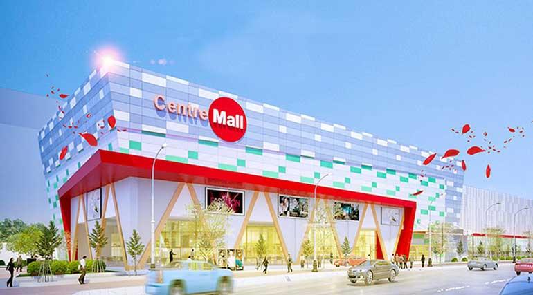 Phối cảnh trung tâm thương mại Centre Mall
