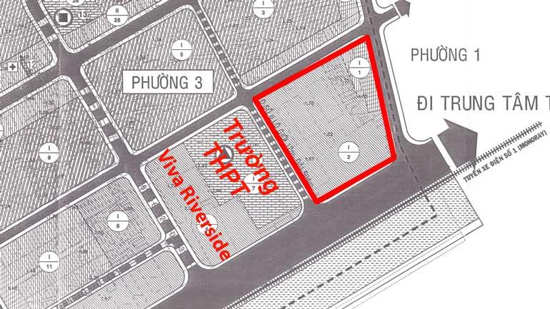 Sơ đồ vị trí trung tâm thương mại Centre Mall