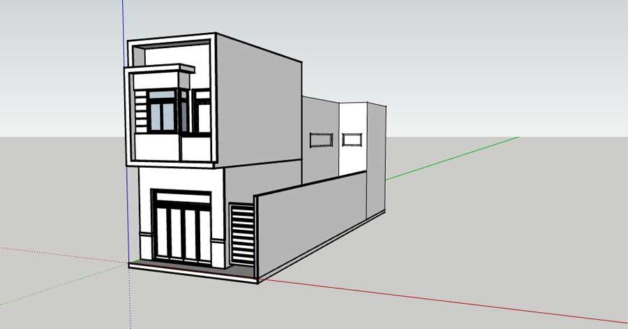 File thiết kế dự án Thanh Niên Mekong City