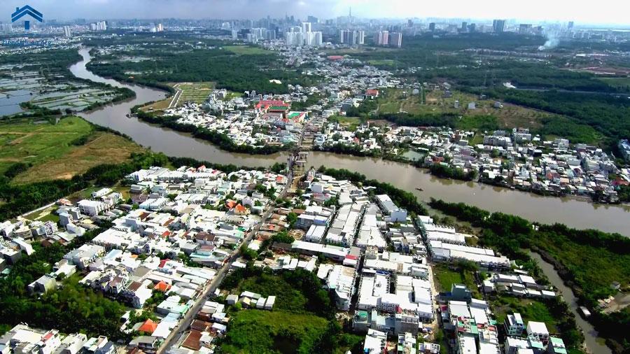 Tiến độ cầu Long Kiểng đường Lê Văn Lương
