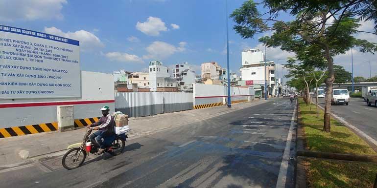 View đường Võ Văn Kiệt