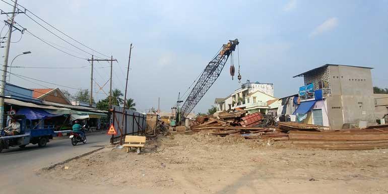 Tiến độ xây dựng Cầu Long Kiểng - Nhà Bè