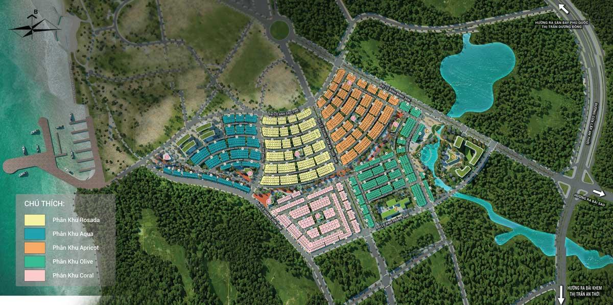 5 phân khu trong dự án Meyhomes