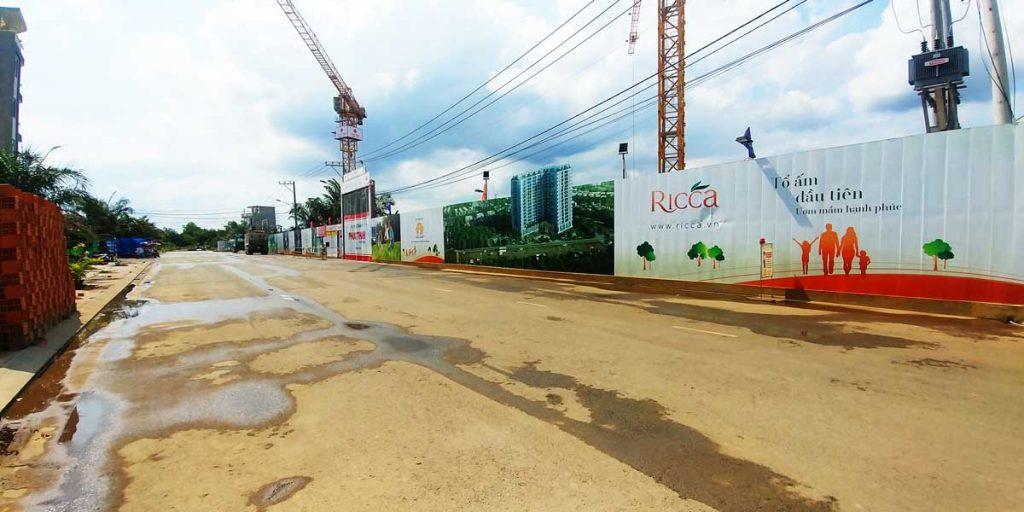 Cập nhật tiến độ dự án căn hộ Ricca