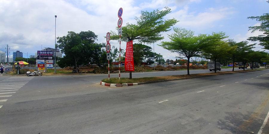 Tiến độ hầm chui Nguyễn Văn Linh