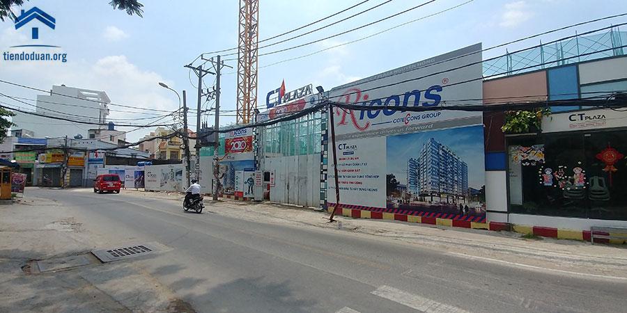 Tiến độ dự án CT Plaza Nguyên Hồng Tháng 03/2020