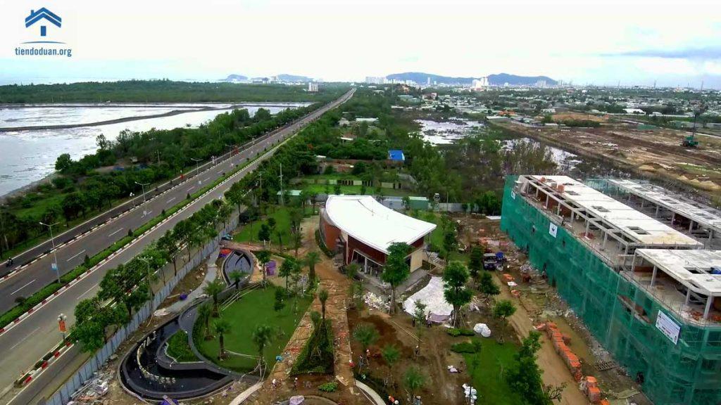 Tiến độ dự án nhà ở vườn xuân Vũng Tàu