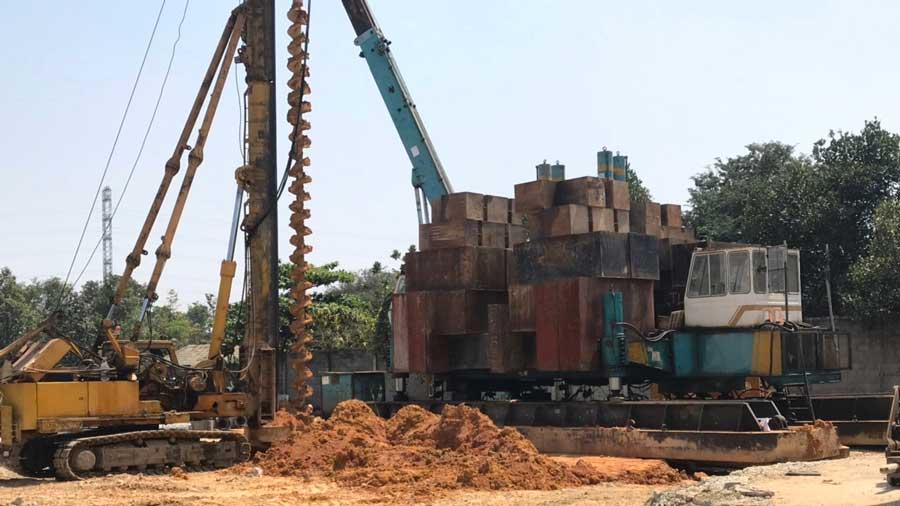 Tiến độ dự án Bình An Tower tháng 04/2020