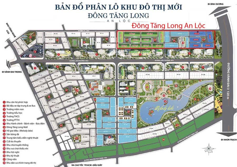 Sơ đồ thiết kế Đông Tăng Long