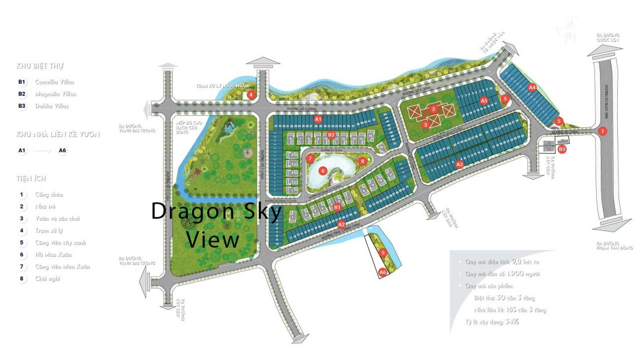 vi tri du an  Dragon Sky View