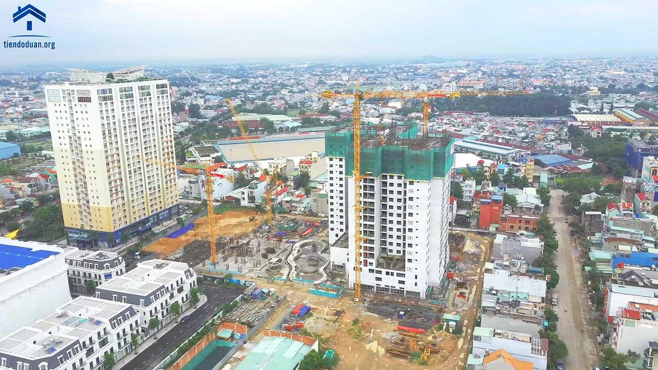 Tiến độ xây dựng dự án Charm City